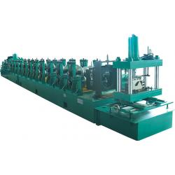 China High Speed 0-25m/min 500mm Coil Width W Beam Guardrail Roll Forming Machine 10mpa Hydraulic Pressure on sale