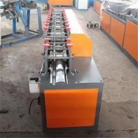 Galvanized Steel Guiding Column Shutter Door Roll Forming Machine