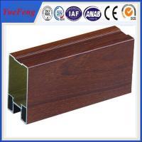 Hot! aluminum extrusion profiles products manufacturer/ wood grain aluminium extrusion