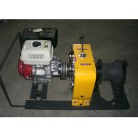 8 Tons Gasoline Engine Powered Winch   Equipment With ISO 9001:2008 Certificate