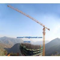 Big 20t Load Flat Top Tower Crane PT7532 Model Cat Head Type