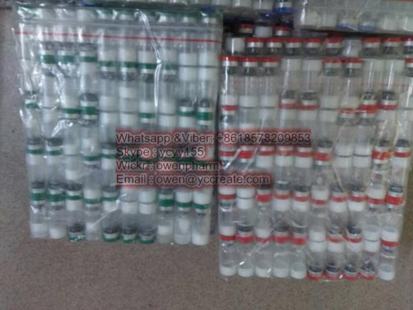 China Sermorelin Acetate Growth Hormone Peptides Sermorelin Peptide Bulk Price GHRP2 supplier
