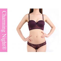 China Elegant Mature Ladies Bra Sets , Transparent ladies panties and bra set on sale