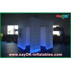 China Digital Portable Inflatable Photo Booth , 2 Doors Big Photo Booth Shell on sale