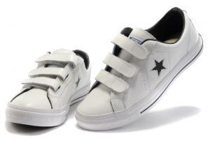 converse one star blanc cuir