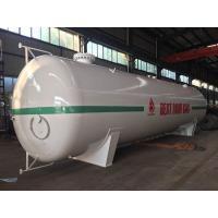 30 Tons LPG Bulk Storage Tank , 60000 Liters Mobile Lpg Filling Station Tank