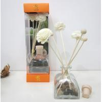 Custom Lavender Fragrance Reed Diffuser with Sola Wood Flower