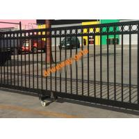 Remote Control Sliding Gate / Driveway Automatic Security Gates Factory