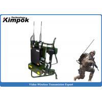 Military Backpack Digital Video Transimtter 720P COFDM Wireless Video System 10 Watt