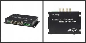 4 Channel Bnc To Fiber HD 1080p Video Converter For Cctv Cameras System