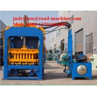 300 M2 Heavy Construction Machinery / Concrete Block Brick Making Machine
