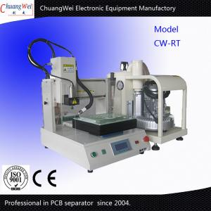 Bench Top Automatic PCB Router With Customize Robust Frame And Vaccum Cleaner