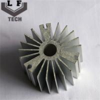 Round High Precision Forging Aluminum Heat Sinks 110 Diameter For LED PCB COB