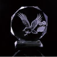 Fashion crystal star trophy