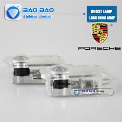 China Porsche-BB0417 Top Quality 2014 Newest LED LOGO LAMP Ghost Lamp on sale
