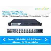 12 Channel CATV Scrambler Wireless TV Multiplexer PCR Precise Adjustment