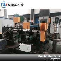 PE/PP recycling pelletizing machine/plastic granulator machine with water ring pelletizing