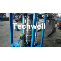 China Steel Coil Sheet Metal Bending Machine For Curved Arch Roofing Sheet ,  Auto Crimping Curved Machine on sale