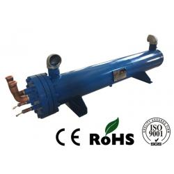 China Loose Flange Shell And Tube Condenser Heat Exchanger R22 Refrigerant on sale