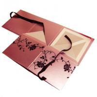 Foil Stamping, Spot UV, Embossed Square Cardboard Cosmetic Gift box flat pack