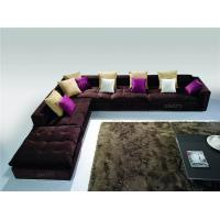 Elegant Modular Corner Sofa Furniture , Contemporary Fabric Sofa Set