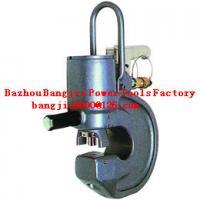 Hydraulic angle iron puncher