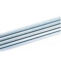 Anti RustFine Thread All Thread Rod , Metric Acme Threaded Rod Zn Plating