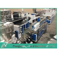 25~60 Mm Plastic Profile Production Line Plastic Trunking Equipment Easy Operation