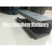 Metal C shape Purlin Roll Forming Machine Anti-rust Roller Long Life