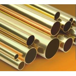 China Small Brass Tubing ASTM B111 , seamless copper pipe BS2871 on sale