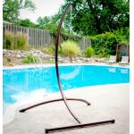 C hammock chair stand