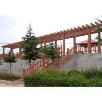 Real Wood Colors Garden Composite Wood Pergola With Real Estate Type