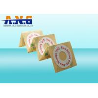 EPC 13.56 Mhz HF Rfid Tags / Stickers For Disc Manegement , 0.5mm Thickness