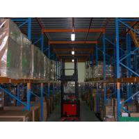 Industrial Heavy Duty Pallet Rack Spray Painting with Mezzanine Floors Stock