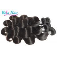 Unprocessed Virgin Peruvian Hair Extensions Thick Ends Human Hair