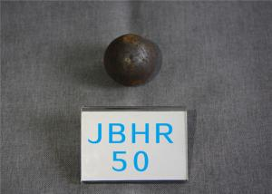 High Hardness 61-62hrc Hot Rolling Steel Balls B2 D50mm Grinding Media Ball for Cement Plants