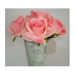 China Artificial Flower Rose with Flower Pot on sale