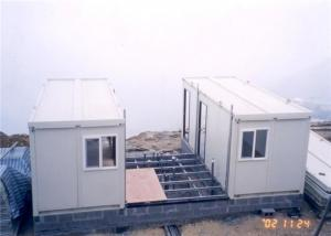 Small u shape container villa with asphalt roof modular for U shaped container home