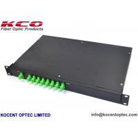 1*8 PLC Optical Fiber Splitter 1x8 SC/APC Patch Panel Rackmount Splitter