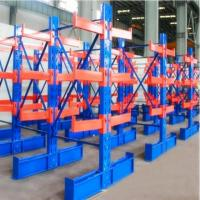 Warehouse High Capacity Cantilever Material Racks For Heavy Pipe / Lumber