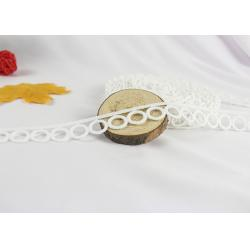 China Simple Round Vintage Cotton Lace Trim With Hollowed Out For Clothing Decorative on sale