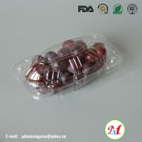 High clear clamshell packaging mango Container