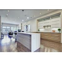 Simple Tranditional Wood Veneer Kitchen Cabinets , Maple Kitchen Cupboards
