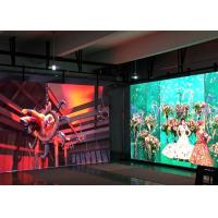 Full Color Indoor Led Video Wall P5 Light Weight For Public Places