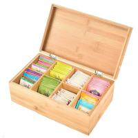 total bamboo material box tea custom tea box for high quality and factory price