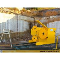 Diamond wire saw machine for stone Quarries and mining