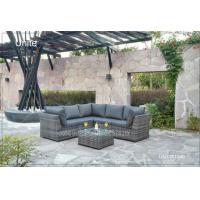 Modern Aluminium Patio Furniture Sets / Outdoor Patio Conversation Sets