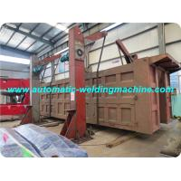 180 Degree Turning Over Box Beam Production Line , Drive Chain Type Machine