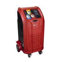LCD Screen Database Automotive Refrigerant Recovery Machine Big Storage Cylinder