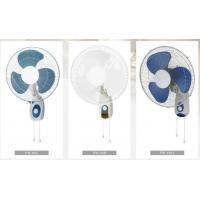 16 inch Wall Fan  Plastic Blade wiith bule&white
